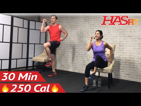 30 Min Senior Workout Routines – Standing & Seated Chair Exercise for Seniors, Elderly, Older People