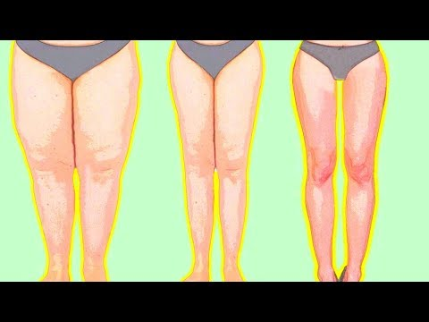 10 SIMPLE EXERCISES TO SLIM DOWN YOUR LEGS & LOSE THIGH FAT | Quick At Home Workout for Women