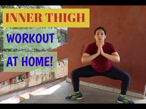 Inner Thigh Fat Workout Exercises For Women at Home | Naomi Ganzu Fitness