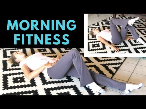 Morning Exercise Routine: Quick Core + Lymph Flow