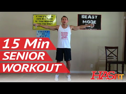 15 Min Senior Workout – HASfit Exercise for Elderly – Seniors Exercises for Elderly – Seniors