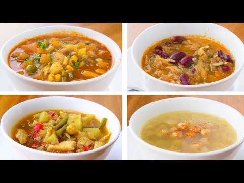 4 Healthy Soup Recipes For Weight Loss, Easy Soup Recipes