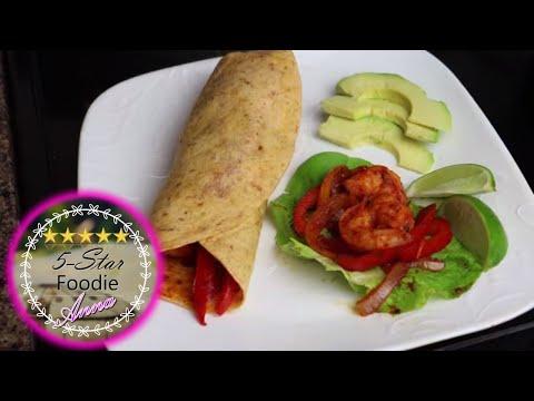 Cilantro Lime Shrimp Wraps ~ Prawns ~ Healthy Recipe (3)