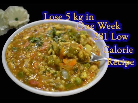 Low-Calorie Guilt Free Dinner Recipe for Fast Weight Loss/FitnessBeautyMantra/Prerna Jha