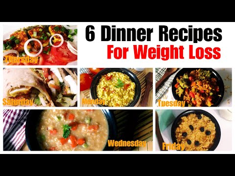 6 Healthy Vegetarian Dinner Recipes for Weight Loss | Indian Dinner With Barley, Oats Daliya