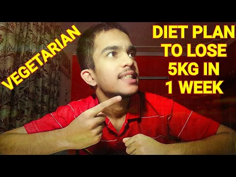 Vegetarian Diet Plan for MEN and WOMEN   Lose weight easily