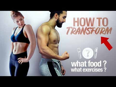 BODY TRANSFORMATION : The TRUTH ! DIET, FOOD, EXERCISES ?
