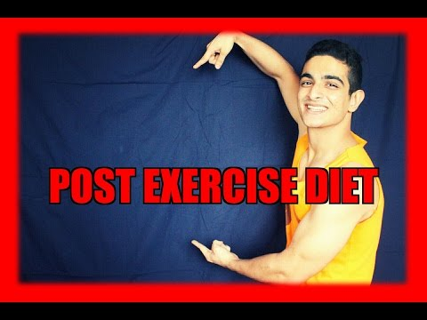 What should I eat after a workout – POST EXERCISE NUTRITION – BeerBiceps Diet