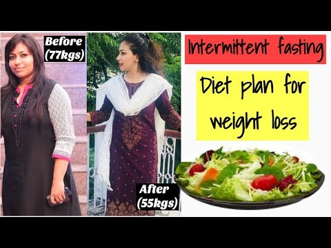 Intermittent fasting diet plan for fast weight loss | DIET PLAN FOR WEIGHT LOSS | Azra khan Fitness