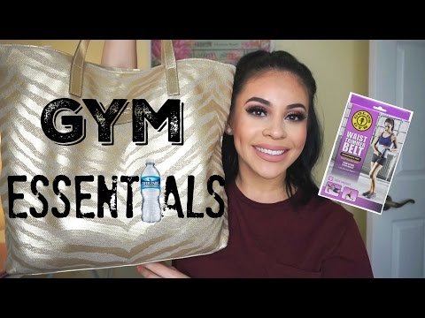 What's In My Gym Bag? | Essentials + How To Freshen Up After Workouts | JuicyJas