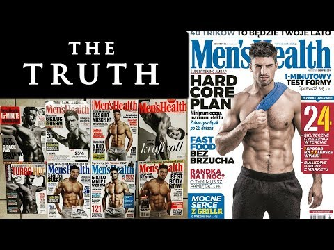 Male fitness model workout and diet plan   MEN'S HEALTH COVER MODEL