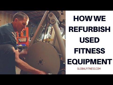 Used Fitness Equipment – How we refurbish used fitness equipment