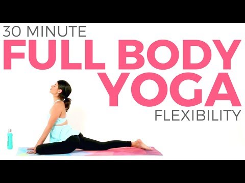 Full Body Yoga for Flexibility & Strength (30 minute Yoga) Sarah Beth Yoga
