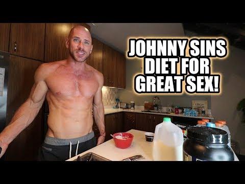 Johnny Sins Diet for Great Sex ! Vlog #8 || SinsTV
