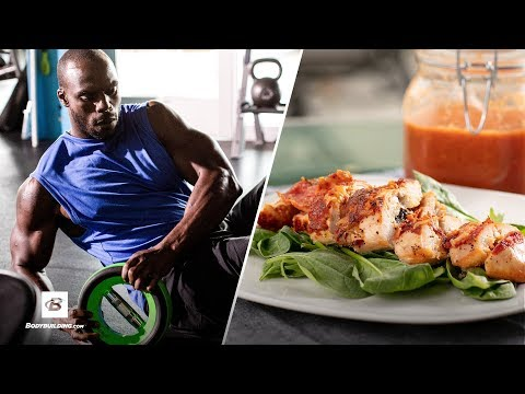 HIIT Workout & Pizza-Stuffed Chicken Recipe | Everyday Beast
