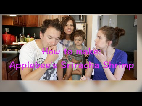 How To: Cook Applebee's Sriracha Shrimp With No Deep Fryer!