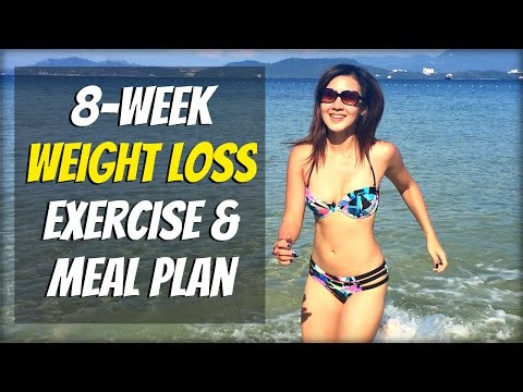 8-Week WEIGHT LOSS Plan (FREE 25 Exercise Videos & 50 Recipes!)