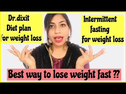 Dr.Dixit Diet Plan For Weight Loss V/S Intermittent Fasting for weight loss | Azra Khan Fitness