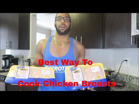 How To Cook Chicken Breasts For Bodybuilding | How To Make Chicken Breasts Taste Good