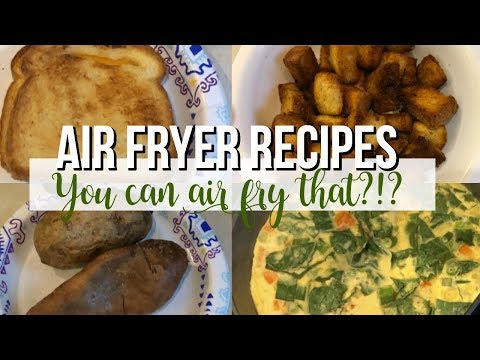 OMORC Air Fryer |  You can air fry that?!?