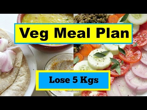 How To Lose Weight Fast – Full Day Indian Meal Plan – Diet Plan For Weight Loss – 5 kg