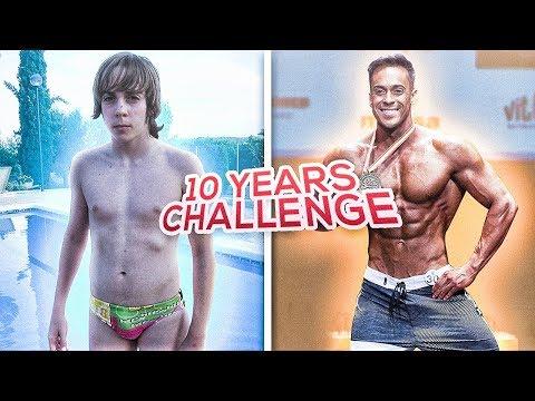 From EMO to FITNESS MODEL | #10YearsChallenge