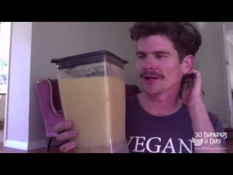 Durianrider Breakfast/Lunch or Dinner Smoothie recipe. Warning: May offend calorie restricters!