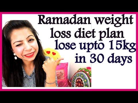 Ramadan Diet/Meal Plan | How to Lose Weight Fast in Ramadan 15 Kgs in 30 Days | Diet Chart 2019