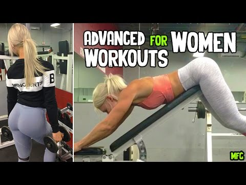 CAROLINE CANDACE – Fitness Model: Advanced Workouts for Women – Gym Training @ Canada