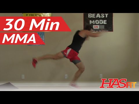 30 Min Knockout MMA Workout at Home – MMA Conditioning – MMA Workouts Exercises UFC Training