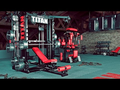 TITAN T1-X (Currently TYTAX® T1-X) – ULTIMATE Gym Machine UNLIMITED Workout Possibilities