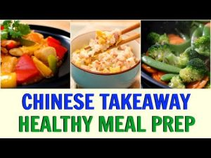 Healthy Chinese Takeaway Lunch / Dinner – Sweet & Sour Chicken, Egg Fried Rice | Joanna Soh