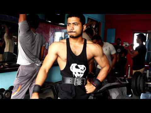 shoulder workouts in Telugu by Fitness model Chaitanya Krishna
