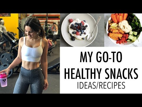 Quick & Easy Healthy Snacks | Ideas/Recipes
