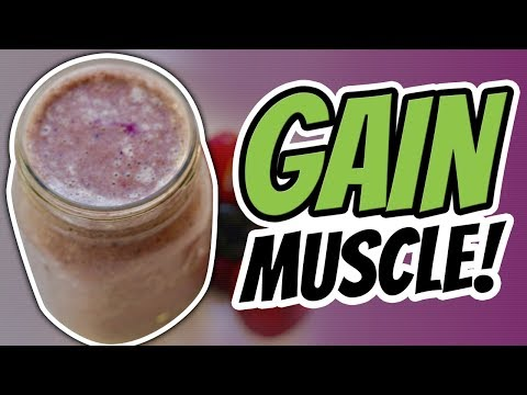 How To Make A Post Workout Protein Shake FOR MUSCLE GAIN