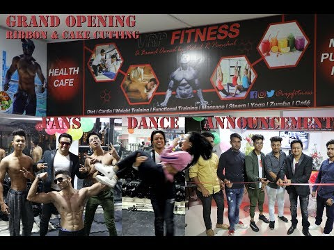 Grand Opening VRP Fitness, Dhamaka News & Dance Performance inside | Cake Cutting |  Fans & More