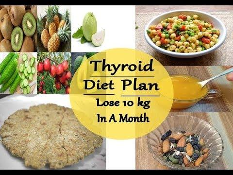 Thyroid Diet Plan/Lose 10kg In A Month/Thyroid & Hypothyroid Diet Plan/Indian Meal Plan/Prerna Jha