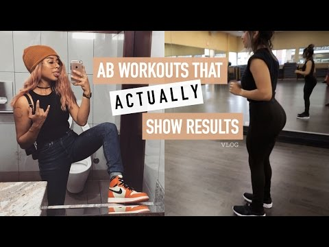 RANT: Makeup at the GYM | EASY AB WORKOUTS THAT GIVE YOU RESULTS | vlog