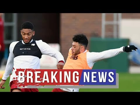 Liverpool news :  Major boost as Gomez and Oxlade-Chamberlain share fitness update