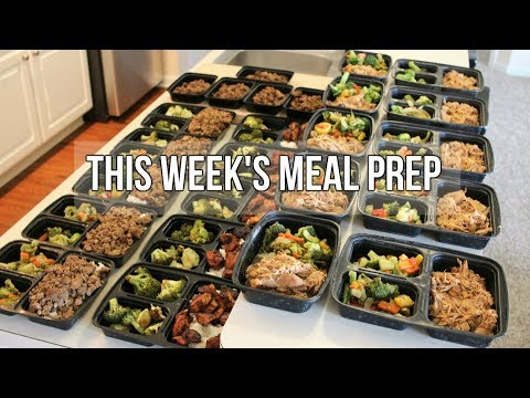 This Weeks Meal Prep – Lunch, Dinner, and Afternoon Snack