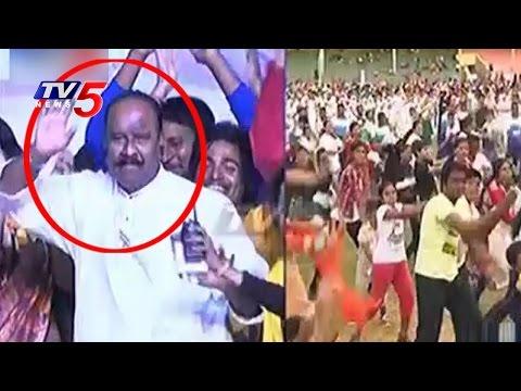 Nayani Narsimha Reddy Dance | Cinematic Fitness Dance Event 2016 | Telugu News | TV5 News
