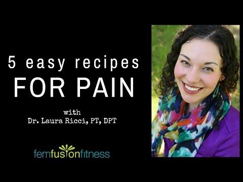 Anti-Inflammatory Recipes for Pain w/ Laura Ricci   FemFusion Fitness