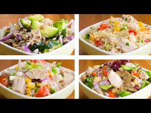 4 Tuna Salad For Weight Loss | Easy Tuna Recipes