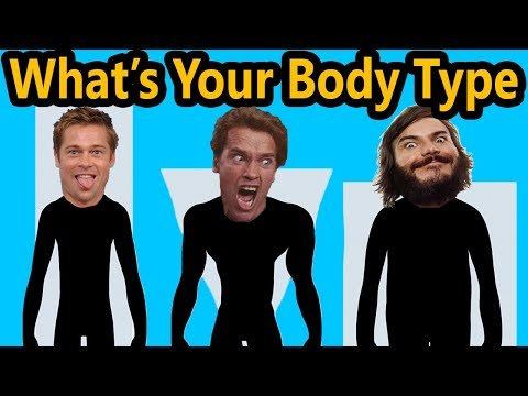 What's Your Body Type (100% ACCURATE EASY TEST) Ectomorph Mesomorph Endomorph Diet & Workout Shape