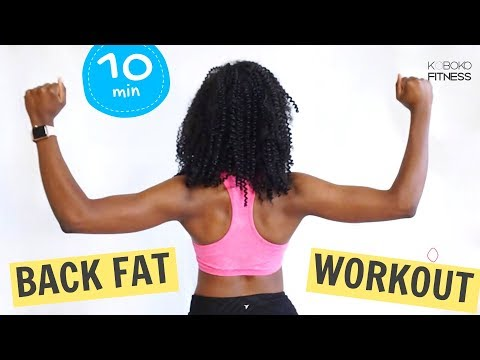 BACK FAT BODYWEIGHT WORKOUT | Standing Exercises – Home Workout