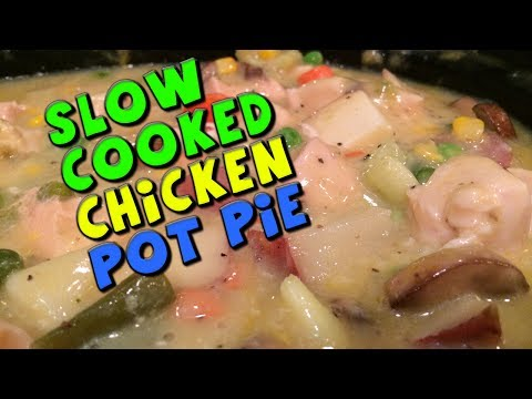 Slow Cooked CHICKEN Pot Pie Recipe (Bodybuilding/Healthy)