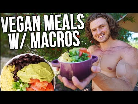What I Eat In a Day As A Vegan Bodybuilder (TIPS TO GAIN MUSCLE)