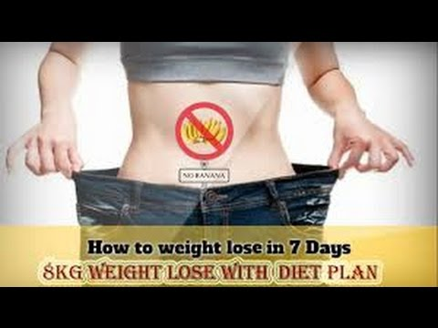 Amazing Diet – lose 8kg in 7 Days – Guaranteed.||WEight Loss||