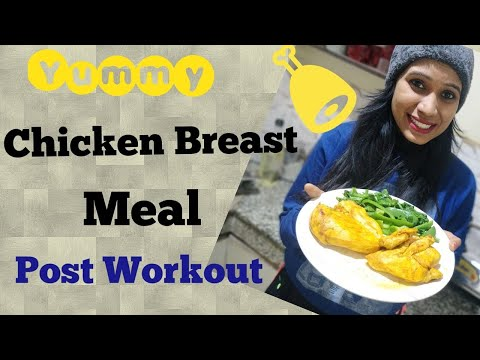 Best Post Workout Meal For Non Vegetarians || Chicken Breast Recipe || FitFunda