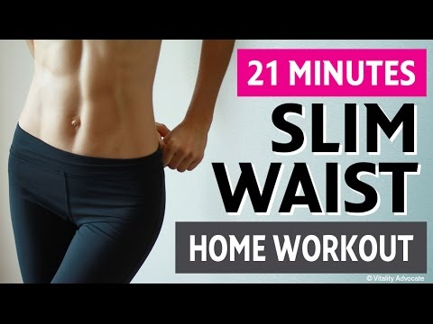 Slim Waist Home Workout For Women – 6 Exercises For a Smaller Waist